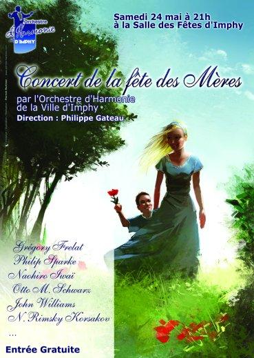 Affiche du concert de Fete des Meres de l\'OHVI le 24 mai 2008