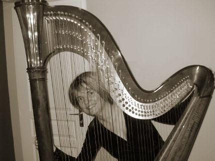 Caroline Vanlathem, harpiste