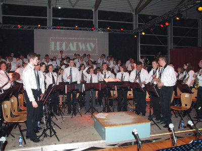 L'Orchestre d'Harmonie de Vic le Comte à l'occasion de son Concert de Printemps 2009