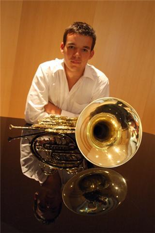 Matthieu Romand, cor solo de l'Orchestre Philharmonique de Radio France et ancien élève de l'Ecole de Musique