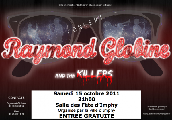 Raymond Globine and the Killers en concert à Imphy