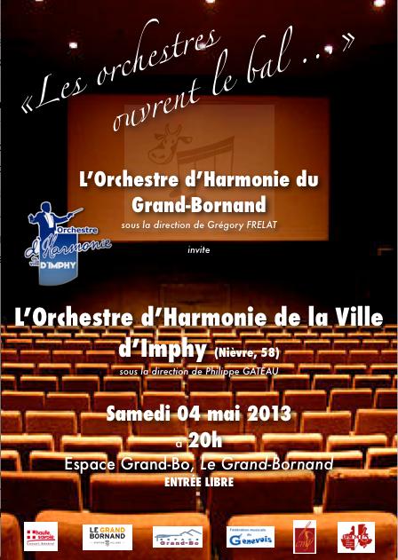 Concert des harmonies du Grand Bornand et d'Imphy