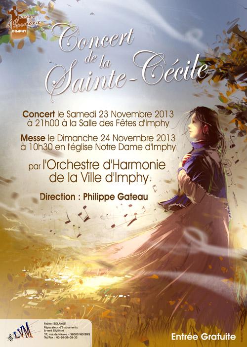 Concert de la Sainte Cécile 2013