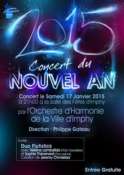 Affiche du Concert du Nouvel An 2015