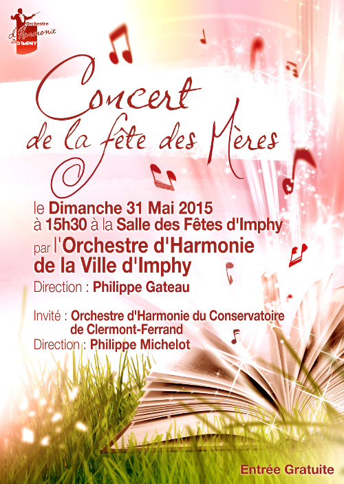 concert de la f te des m res orchestre d 39 harmonie de la. Black Bedroom Furniture Sets. Home Design Ideas