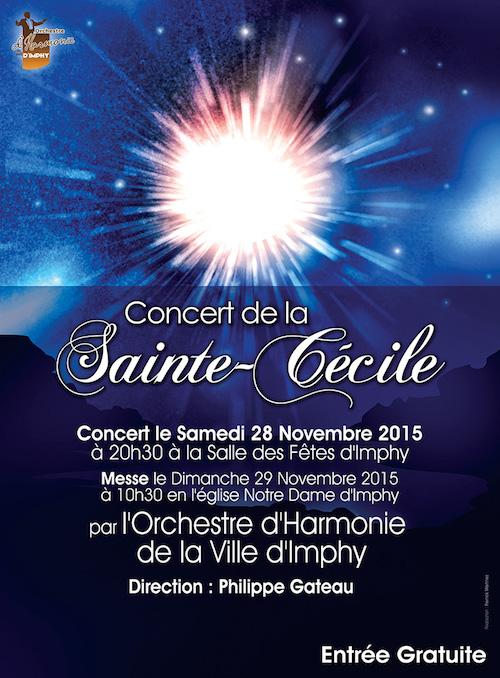 affiche sainte cécile 2015