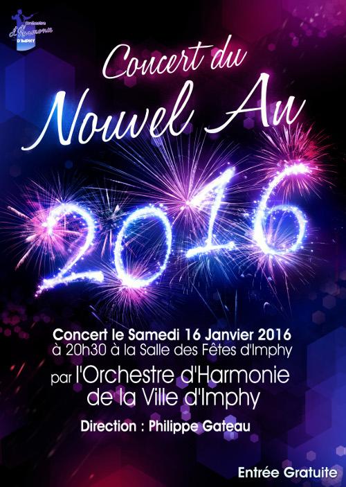 Affiche du Concert du Nouvel An 2016