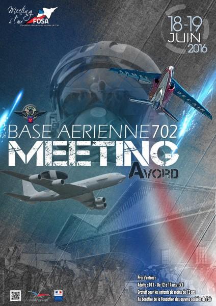 Affiche du meeting