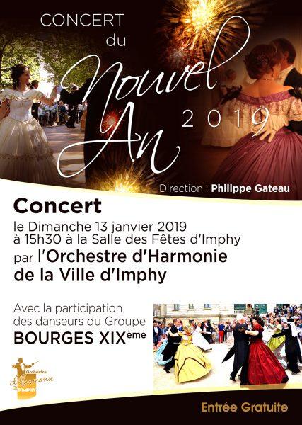 affiche concert nouvel an 2019